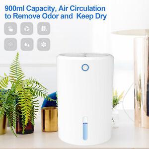 900ml Portable Electric Air Dehumidifier Compact Condensation Damp Home Office