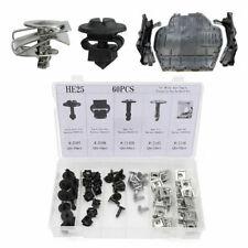 60pcs Motorschutz Unterfahrschutz Einbausatz Clips Schraube für Audi A4 S4 A6 S6