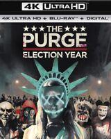 The Purge Election Year (4K UltraHD Blu Ray New)  UK stunning 4k hdr