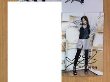 Park Min Young KPOP Korean Actress 4x6 Photo Autograph hand signed USA Seller A3