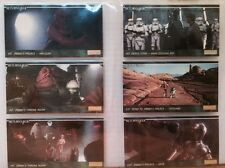 1995 TOPPS STAR WARS Wide Vision Trading Cards JEDI 24 Cards
