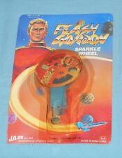 vintage Ja-Ru FLASH GORDON SPARKLE WHEEL MOC rack toy
