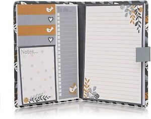 Fallen Leaves Sticky Notes Folio Notebook