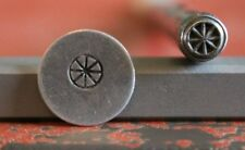 SUPPLY GUY 5mm Spoke Wheel Metal Punch Design Stamp SGI-52, Made in the USA