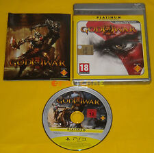 GOD OF WAR III 3 Ps3 Versione Italiana Platinum ••••• COMPLETO