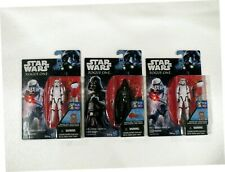 NEW--Star Wars ROGUE ONE lot with DARTH VADER and 2 x STORMTROOPERS