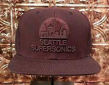 Mitchell & Ness NBA Seattle Supersonics Hardwood Classics Mens Strapback