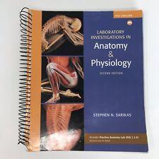 Anatomy & Physiology Textbook 2nd Edition Pig Stephen Sarikas ISBN 9780321575593