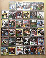 35 ps3 juegos playstation 3 recopilación del paquete Mass Effect fifa heavy rain NFS skate