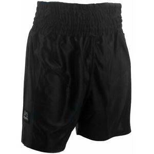 Rival Boxing Youth Dazzle Traditional Cut Competition Boxing Trunks - Black