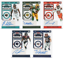 2019 Panini Contenders Rookie Ticket Variation RC SP Auto Pick Any