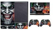 Joker 250 Vinyl Cover Skin Sticker for Xbox One & Kinect & 2 controller skins