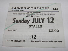 "Sounds Rock Show ""More"" Vintage Ticket Stub Rainbow, London 12 JUL 1981  NWOBHM"