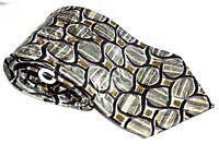 Men's Neck Tie Fondini  100% Fine Imported Silk 58L X 4W   green gold black