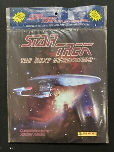 Star Trek The Next Generation Commemorative Sticker Album New