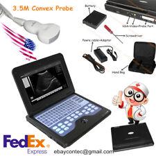 Portable Laptop Machine Digital Ultrasound Scanner 3.5 Convex Probe,CMS600P2,FDA