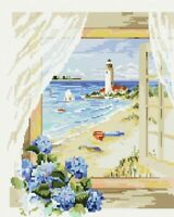 Diamond Painting Set Holzrahmen Bild 40x50 Diamant Malerei Stickerei Malen GJ182