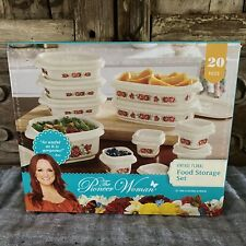 BRAND NEW The Pioneer Woman 20 Piece Food Storage Set Vintage Floral NEW IN BOX