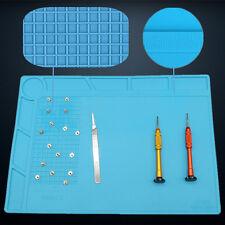 Heat Gun Pad Silikon-Matte Lötstation Multifunktions-Reparatur Wärmedämmung*Tool