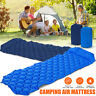 Ultralight Portable Inflatable Sleeping Mattress Camping Mat With Pillow Bag ~