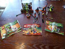 LOT* LEGO Ninjago Sets w Instructions minifigures (9558, 70726, 9440)