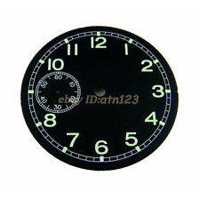 Parnis 38.9mm Black Dial watch kit for Seagull st36 eta 6497 movement watch P43