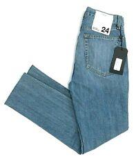 NWT Rag & Bone Helena High Rise Raw Hem Ankle Skinny Jeans Womens Size 24 $250