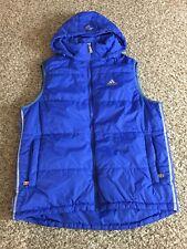 Rare! Porsche Designs Blue Vest Adidas Size Large 911 turbo design jacket coat