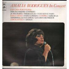 Amalia Rodrigues LP Vinyl Amalia Rodrigues in concert Columbia 3C05411062 New