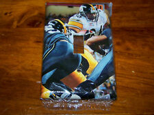 PITTSBURGH STEELERS JEROME BETTIS LIGHT SWITCH PLATE #6