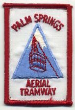 Vintage Souvenir Patch: Palm Springs Aerial Tramway 2x3 (A177)