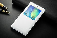 Luxury Slim Flip Leather VIEW Smart Stand Hard Case Cover For Samsung Galaxy New