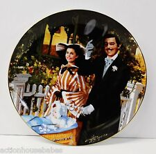 GONE WITH THE WIND 50th ANNIVERSARY W.L. GEORGE 1989 PLATE STROLLING IN ATLANTA