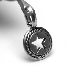DAVID YURMAN Mens New Sterling Silver Lone Star Amulet Enhancer
