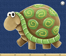 Susybee's Paul Sheldon Playmat Turtle 100% cotton fabric by the panel