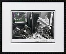 "HENRI CARTIER-BRESSON ""HENRI MATISSE, VENCE, FRANCE"" 1944 | RARE SIGNED PRINT"