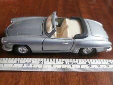 WELLY MERCEDES-BENZ 190SL CONVERTIBLE WITH OPENING DOORS & BONNET MADE IN CHINA