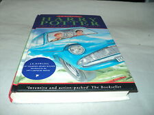 Harry Potter and the chamber of secrets by J. K. Rowling hardback 2nd print run