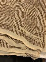 RALPH LAUREN VINTAGE Silk Scarf