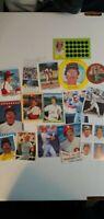 Mike Schmidt Oddball/Sticker Lot: Various Years/Makes Philadelphia Phillies HOF