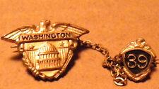WASHINGTON DC 39 VINTAGE PIN