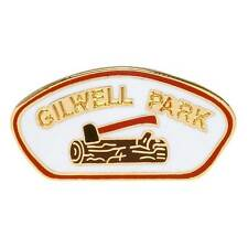 GILWELL PARK LOG AND AXE PIN (COUNCIL)
