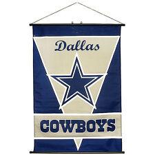 """NFL Dallas Cowboys Fabric Banner Wall Scroll 28""""x40"""""""