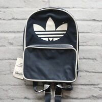 Vintage New 90s Adidas Mini Santiago Backpack Navy Womens