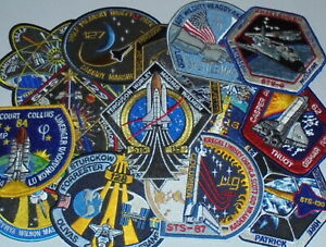 NASA Space Shuttle Mission STS Embroidered Patch