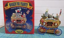 ADORABLE Enesco Musical Society Workin' for Peanuts Mice on Circus Wagon  WORKS