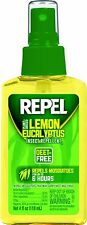 Repel Lemon Eucalyptus Natural Insect Repellent 4-Ounce Pump Spray Pack of 1