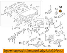 8030A205 Mitsubishi Air outlet, instrument panel side, rh 8030A205, New Genuine