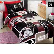Licensed  Star Wars SW7 Fighter Patch  Single Reversible Quilt Cover Set