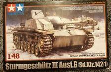 StuG III Ausf. G - 1/48 Military Model Kit - Tamiya 32525
